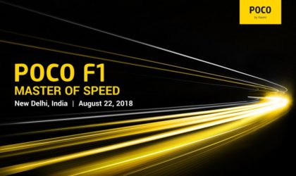 Xiaomi Pocophone F1: India launch set for August 22