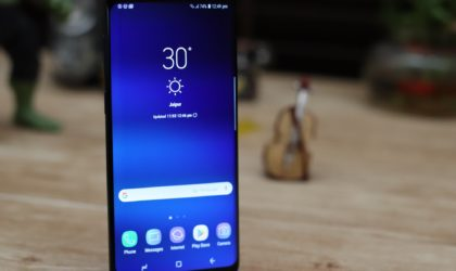 New updates for Galaxy Note 8, Galaxy S9/S9+ bring August security patch