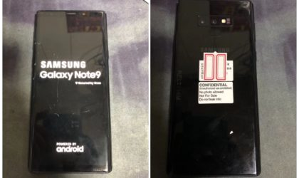 Galaxy Note 9 design revealed in full in leaked images