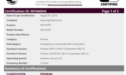 Android 8.0 Oreo for Galaxy J5 Prime and Galaxy Xcover 4 gets certified, could release next month