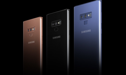 How to force restart the Galaxy Note 9 when device is not responding