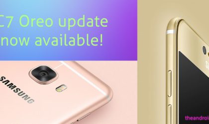 [Update: Galaxy C5 Pro too] Android Oreo for Galaxy C7 is now available (OTA rolling out)