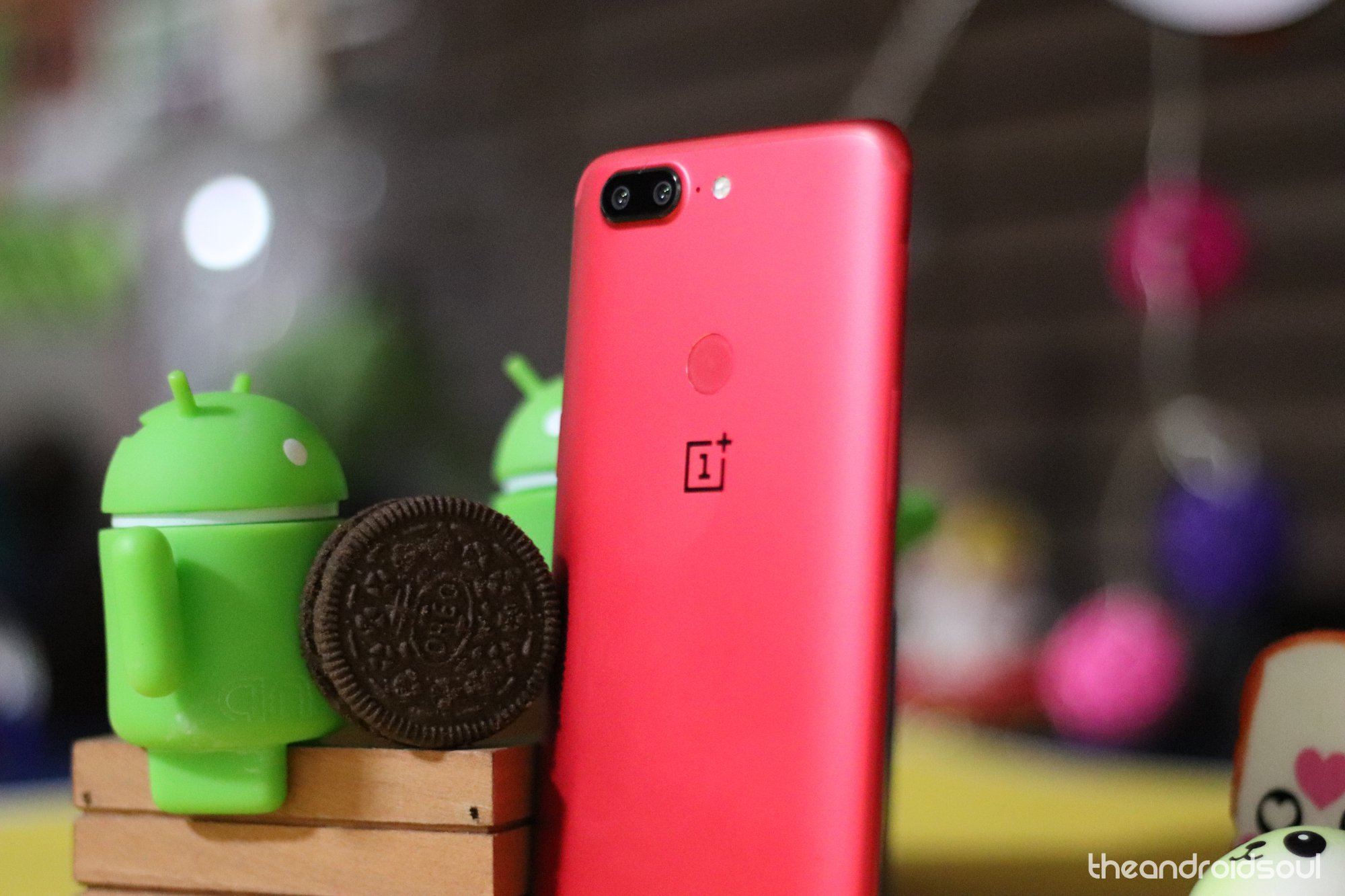 OnePlus 5T Android 9 Pie