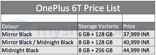 oneplus-6t-price-storage-versions-leak