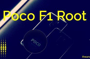 poco f1 root