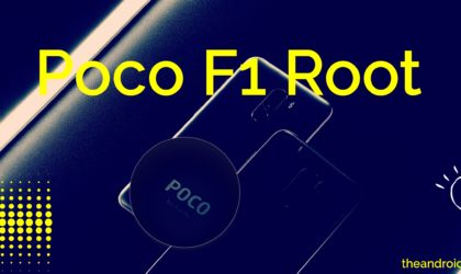 How to root Xiaomi Poco F1