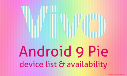 Vivo Android 9 Pie update: Arrives on Vivo X21 in Q4 2018