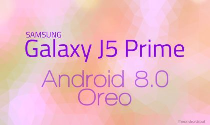 Android Oreo now available for Galaxy J5 Prime