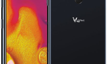 LG V40 ThinQ shows off five camera lenses in leaked press image