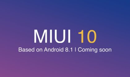 MIUI 10 for Redmi 6, 6A and 6 Pro is coming soon