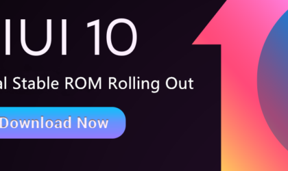 MIUI 10 stable released globally for Redmi Note 5, 5 Pro, Mi Mix, Mi Mix 2, Mi 5, Mi 6, Mi Note 2 and Redmi S2