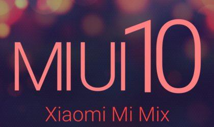 How to install MIUI 10 on Xiaomi Mi Mix