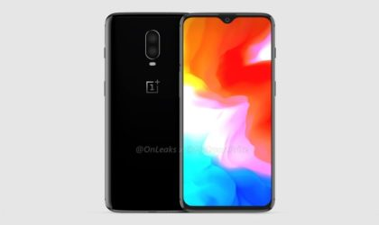 This is the OnePlus 6T in latest clearer renders