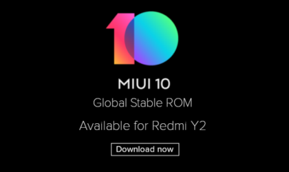 MIUI 10 global stable ROM is official, update rolling out to Redmi Y2 (aka Redmi S2)