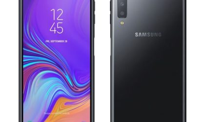 This is the Galaxy A8 Plus 2019 with a side fingerprint sensor