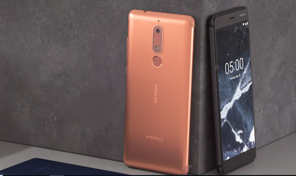 Nokia 5.1 front and back