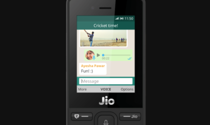 WhatsApp now available on JioPhone running KaiOS