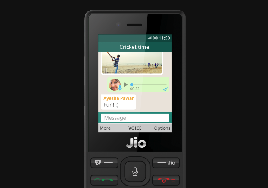 in jio phone how to download whatsapp