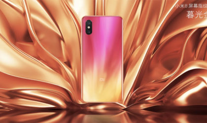 Xiaomi Mi 8 Pro announced with pressure-sensitive in-display fingerprint scanner and gorgeous new color option
