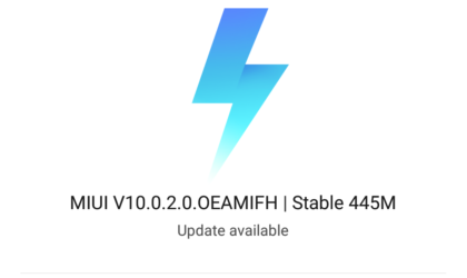 MIUI 10 stable update released for Xiaomi Mi 8 and Mi MIX 2S global models
