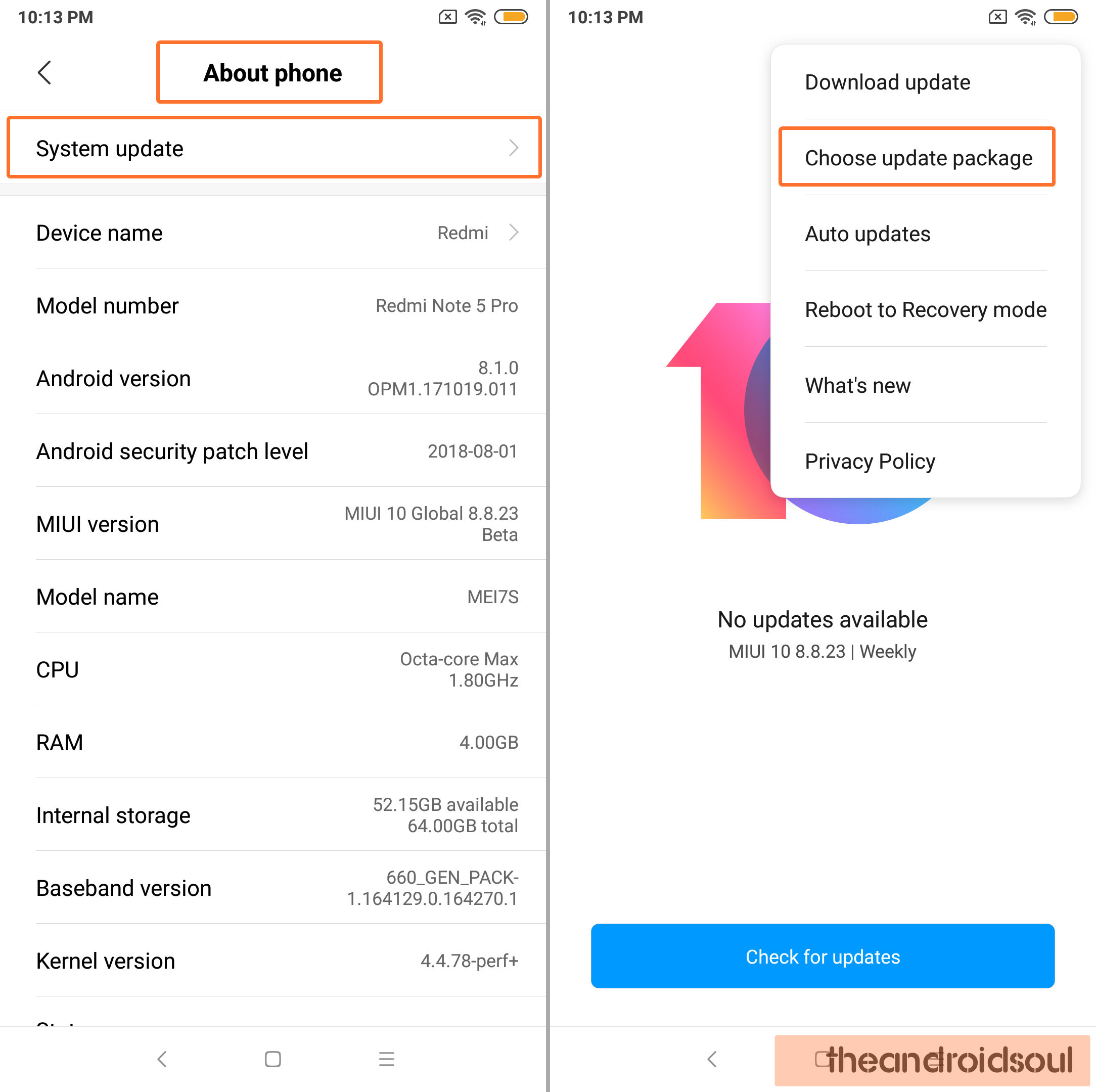 how to install Xiaomi local update