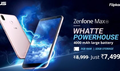 Asus ZenFone Max is announced in India
