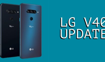 LG V40 update news: AT&T and Verizon release Android 9 OTA update
