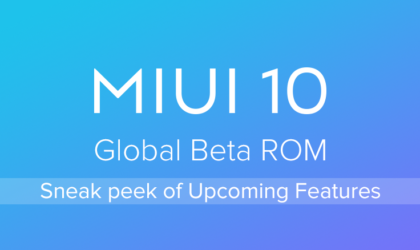 MIUI 10 beta 8.11.15 fixes Redmi 5 camera issue, Mi 8 navigation buttons bug, and more