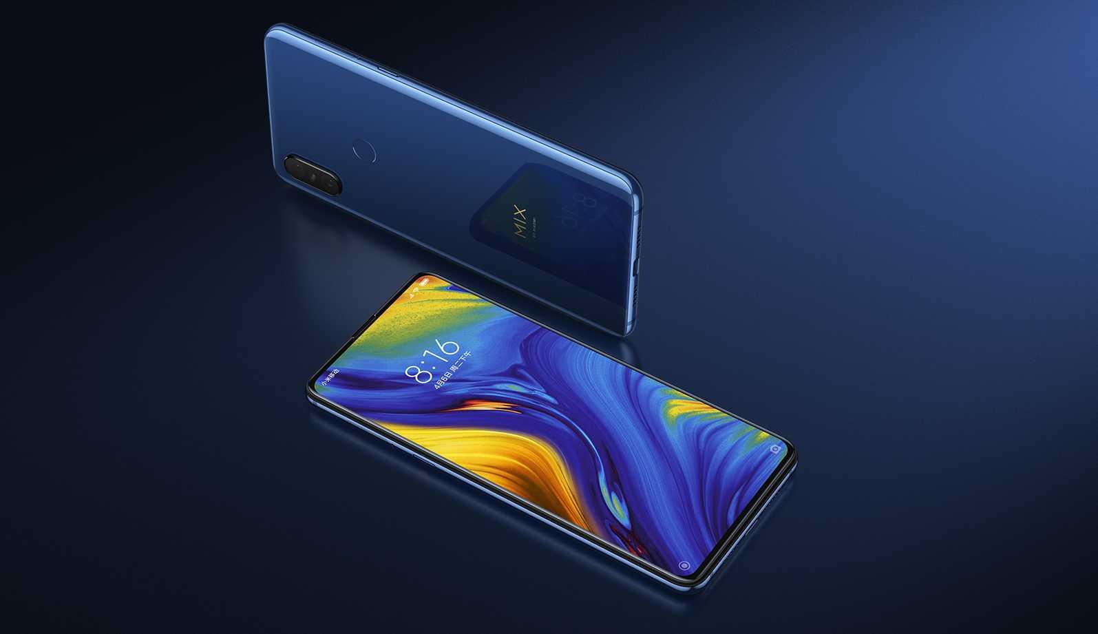 Xiaomi Mi Mix 3 smartphone