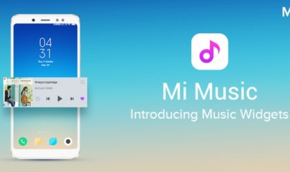 Xiaomi's Mi Music app gets updated with Music Widgets