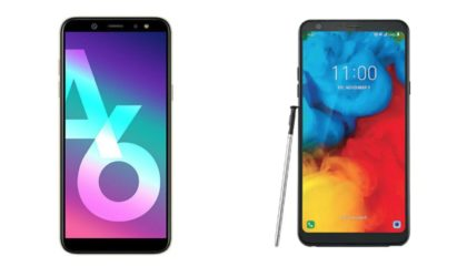 AT&T now offers the LG Stylo 4+ and Samsung Galaxy A6