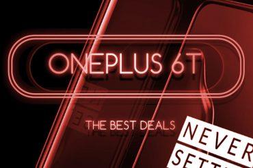 OnePlus 6T deals