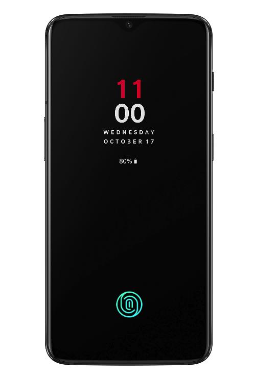 OnePlus 6T in display fingerprint sensor