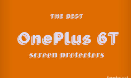 Best screen protectors for OnePlus 6T