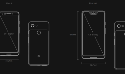 Google announces the Pixel 3 and Pixel 3 XL, and they are very costly but very worthy!