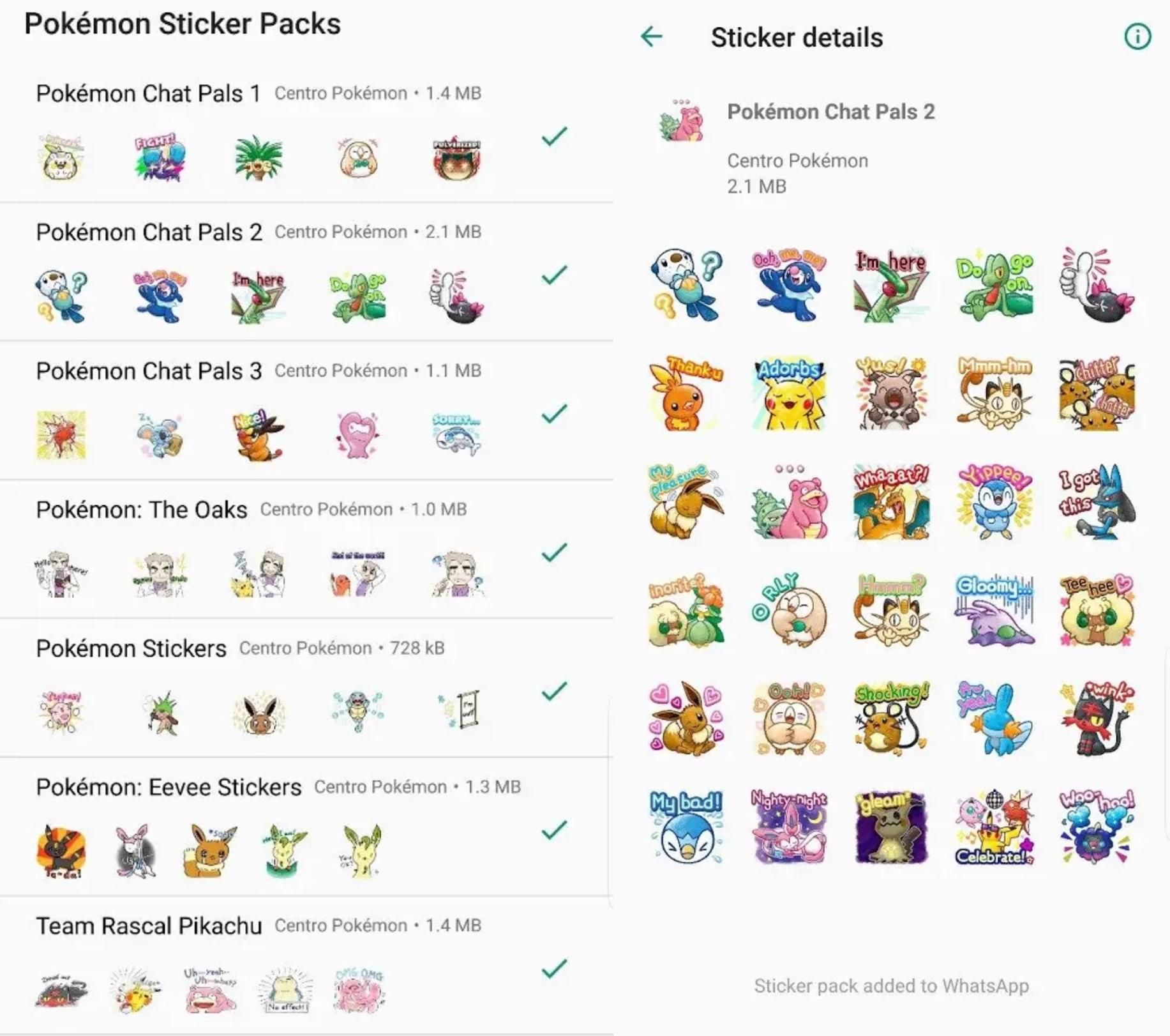 Pokemon-WAStickers