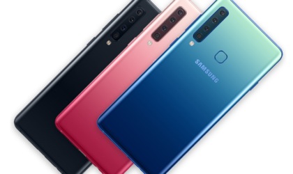 Samsung Galaxy A9 2018: The world's first smartphone with four rear cameras