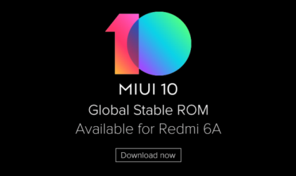 MIUI 10 now available for Redmi 6A, brings face unlock and July patch