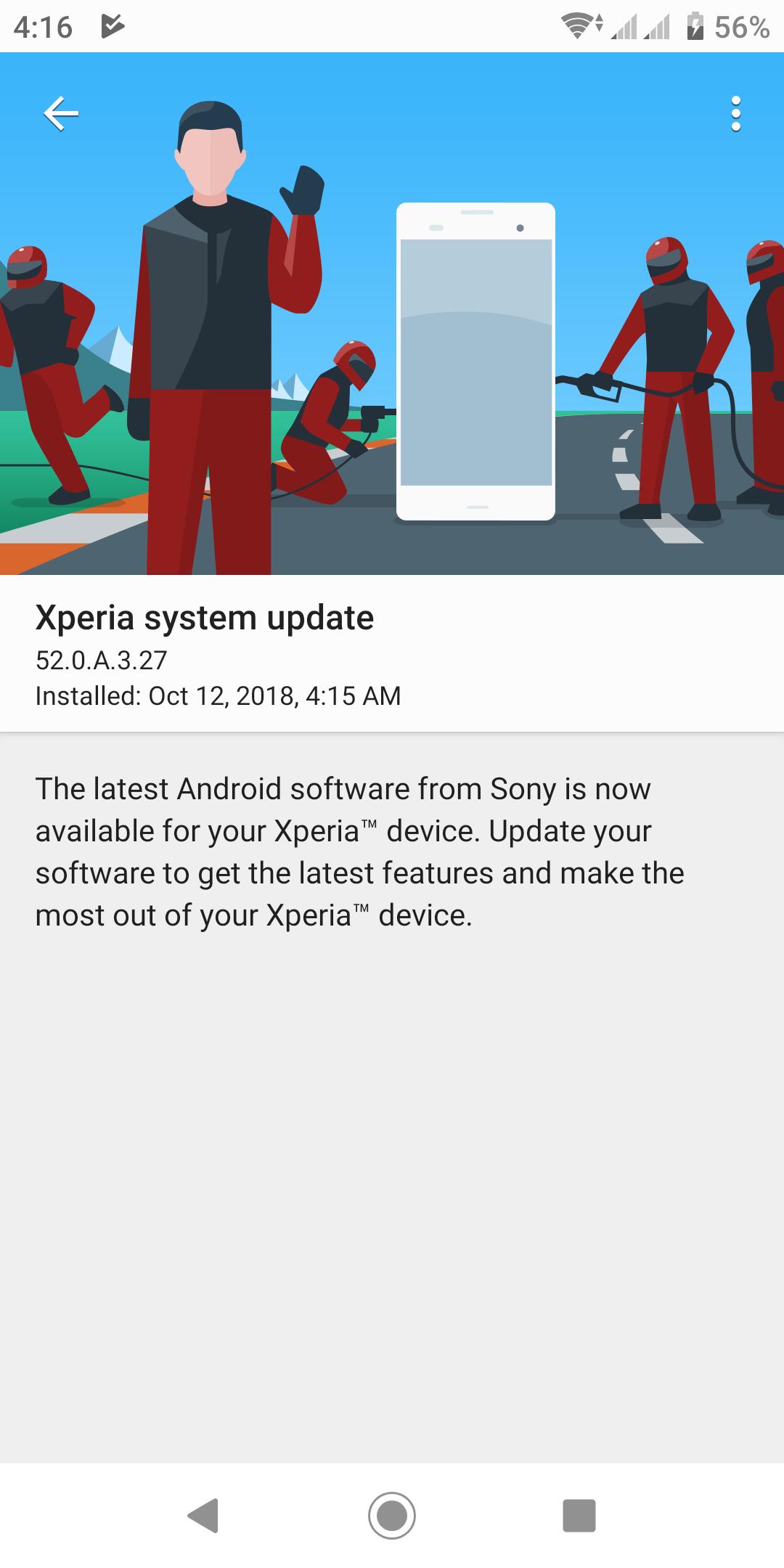 Xperia-XZ2-update