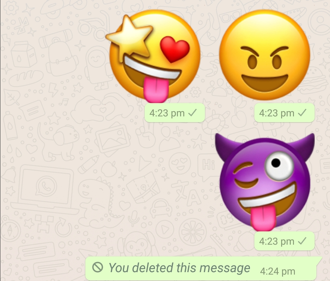 Emojis are the super fun to use and share during conversations especially when we have not much to talk about while texting