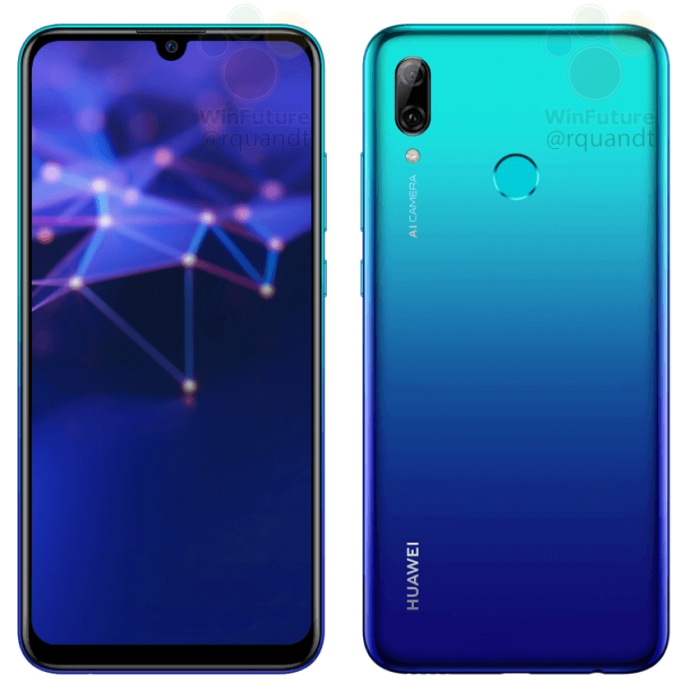 check official pics of huawei p smart 2019 leak. Black Bedroom Furniture Sets. Home Design Ideas