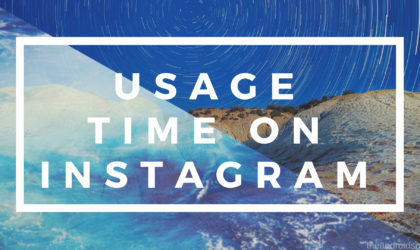 How to get Instagram update that allows you to track time