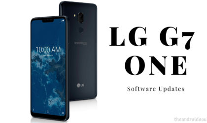 LG G7 One update: Android 9 Pie OTA available for download