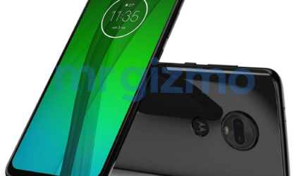 Leaked Moto G7 image renders reveal waterdrop notch and dual rear cameras