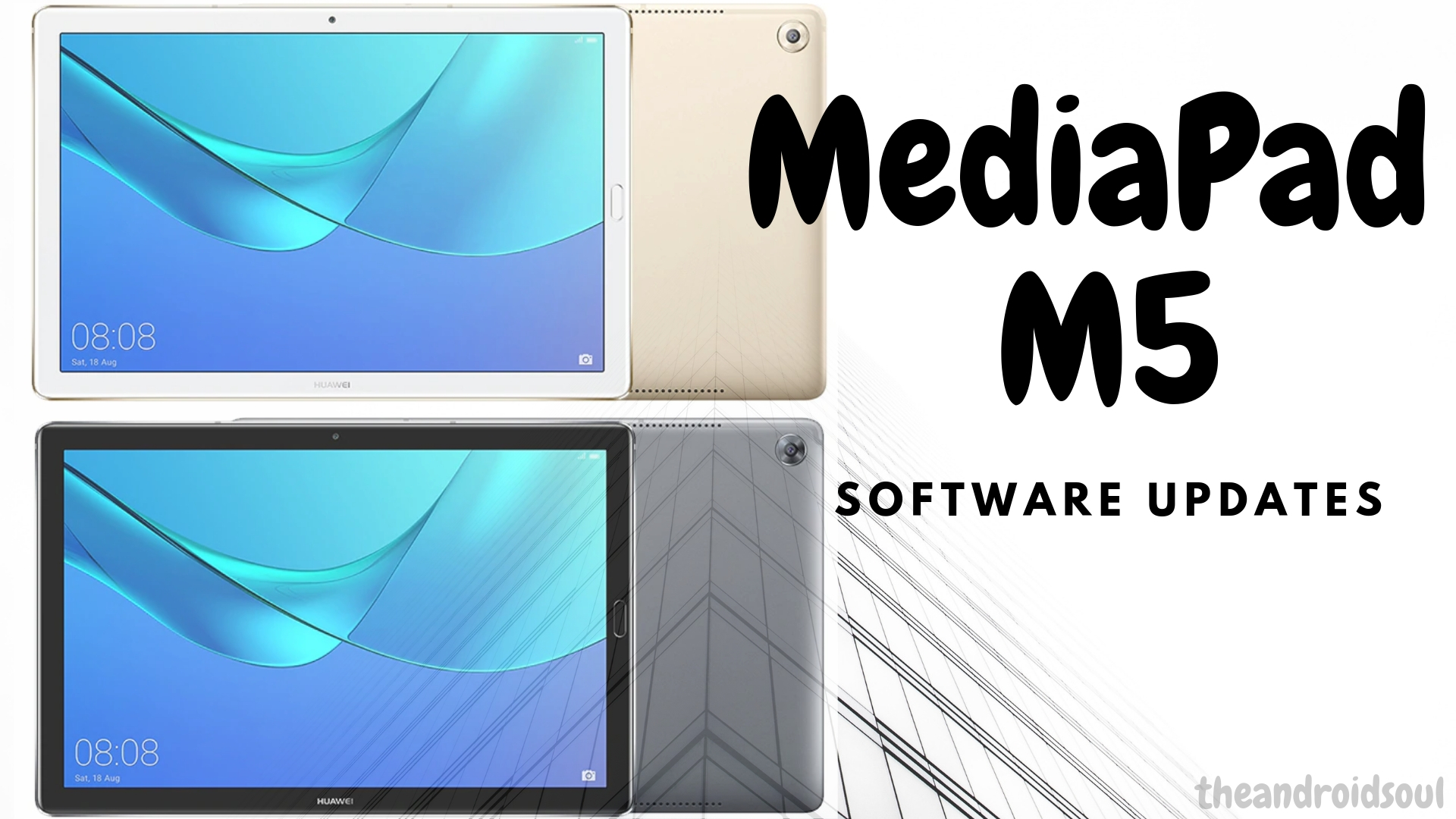 MediaPad M5 software updates