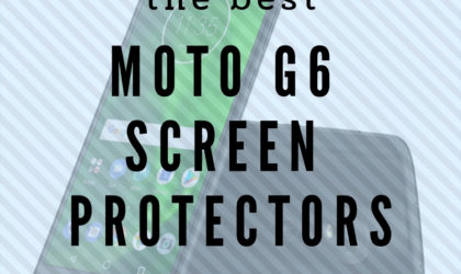 Best Moto G6 screen protectors