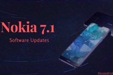 Nokia 7.1 software updates