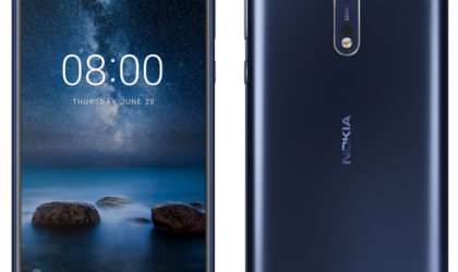 The Nokia 8 is now receiving the Pie update in India and other markets