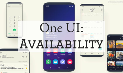 In which countries the Galaxy S9 Pie update with One UI is available right now