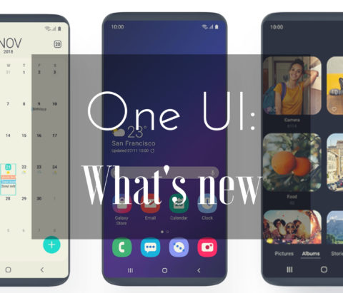 What's new in One UI